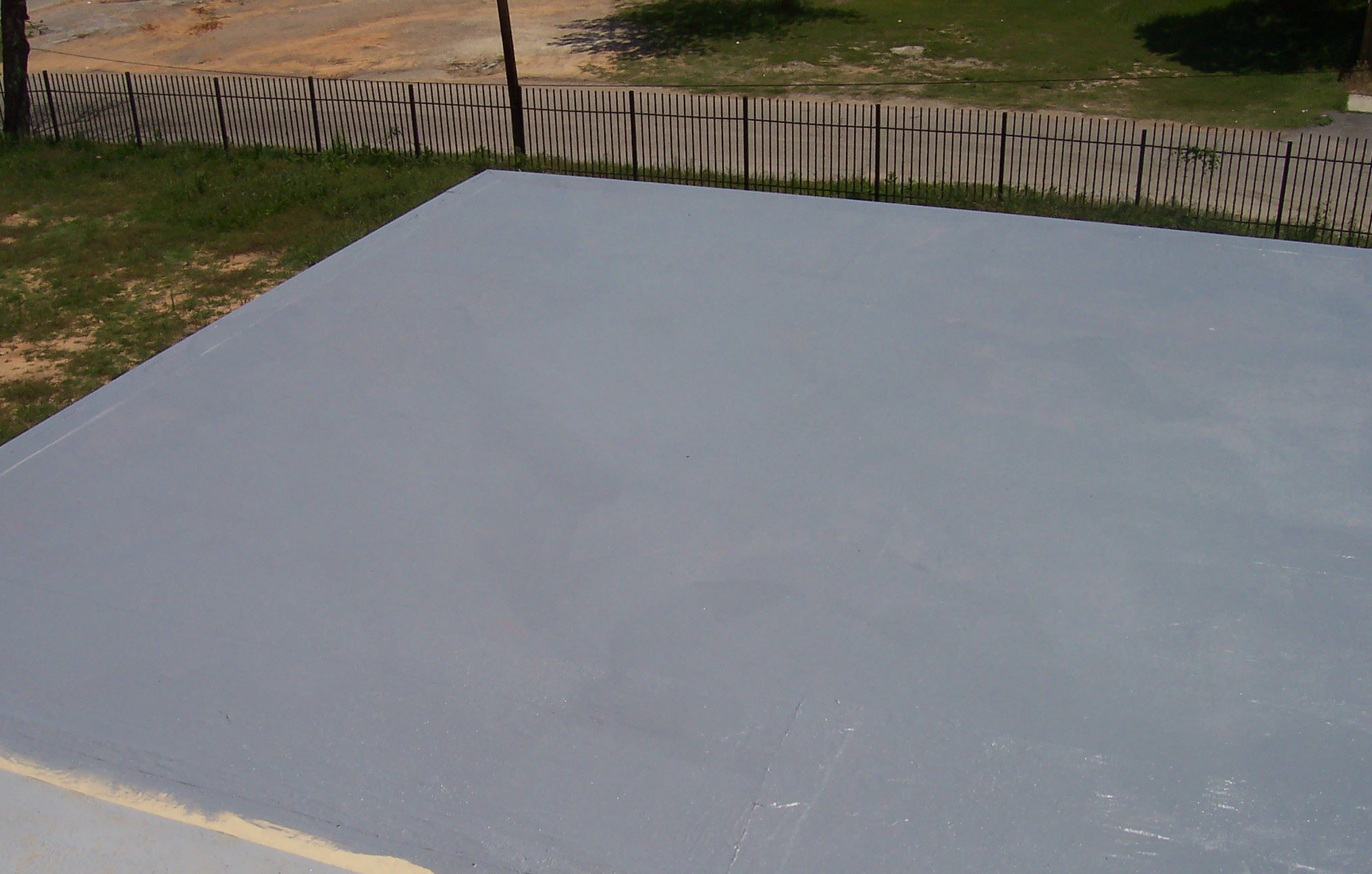 Austin roof coating to extend flat roof life better for Flat roof waterproofing paint