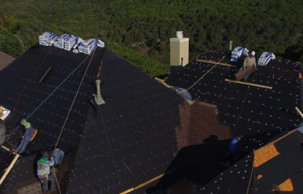 Asphalt shingle roof replacement