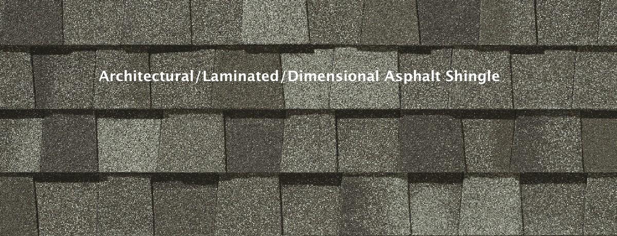 Architectural shingle